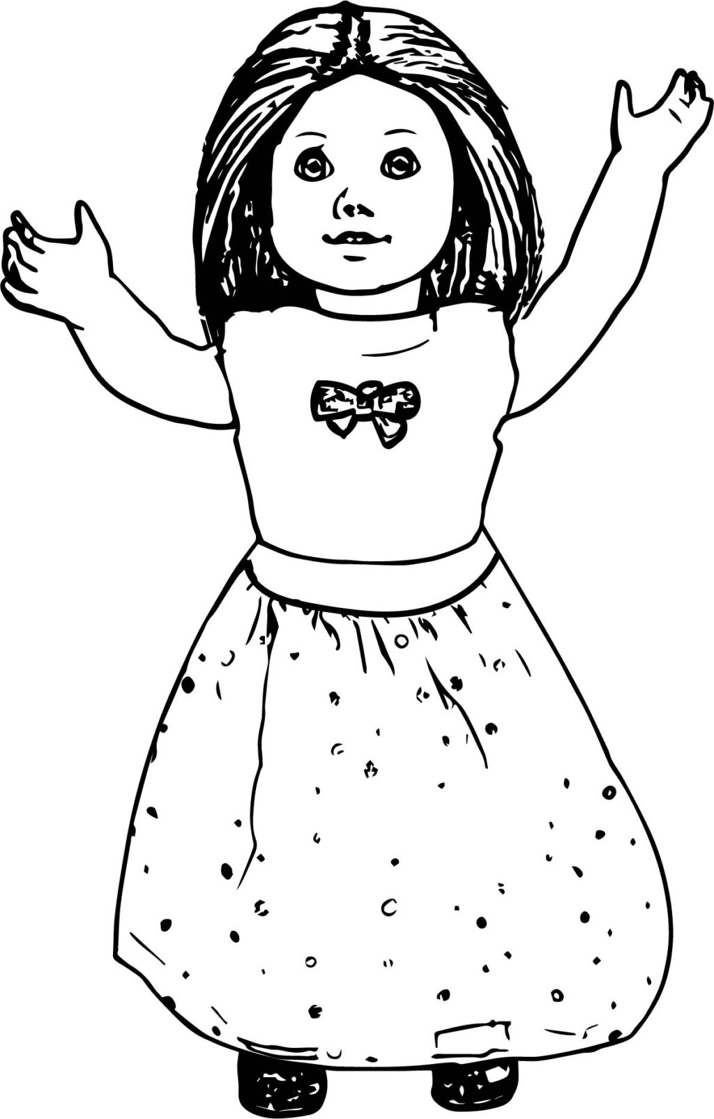 American Girl Coloring Pages Lea Coloring Book World Splendi American Girl Doll Coloring Pages