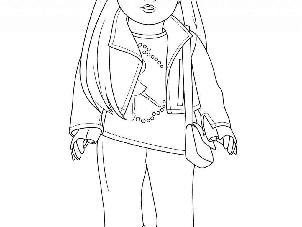 American Girl Coloring Pages Lea Coloring Ideas American Girl Coloring Pages Marvelous Picture