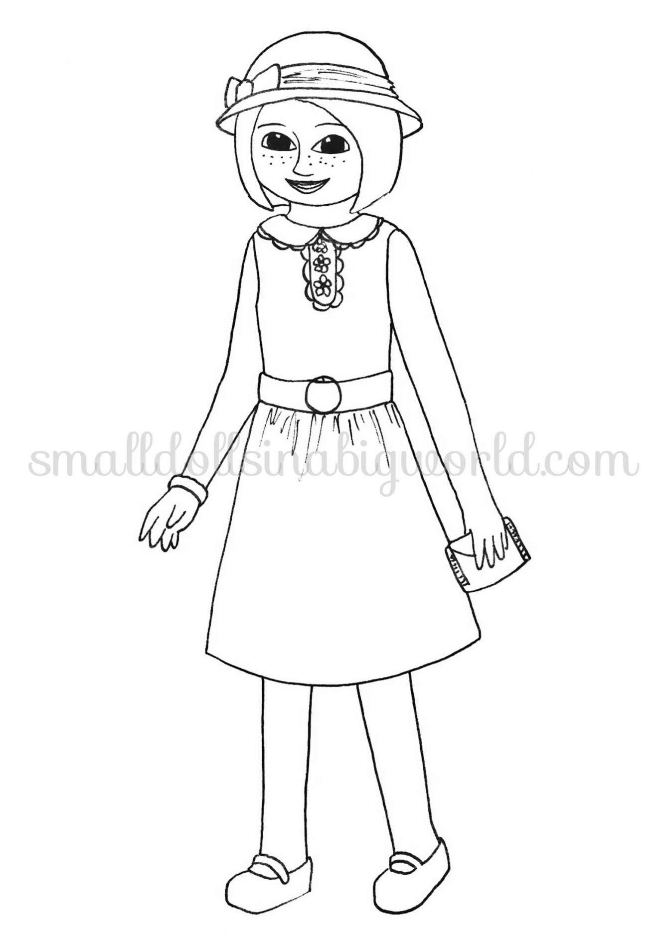 American Girl Coloring Pages Lea Coloring Ideas Coloring Ideasn Girl Pages Julie Printable Dolls Of