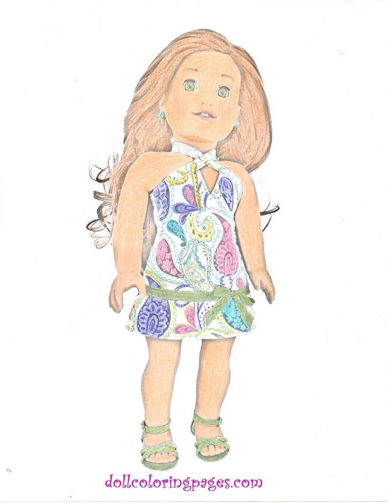 American Girl Coloring Pages Lea Five Adult Coloring Pages Doll Photography Greyscale Art American Girl Doll Coloring Pages Lea Clark 5 Jpg Digital Instant Downloads