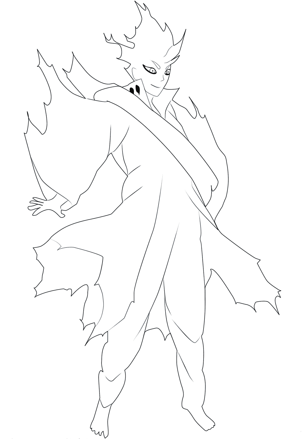 Anime Naruto Coloring Pages Free Printable Naruto Coloring Pages