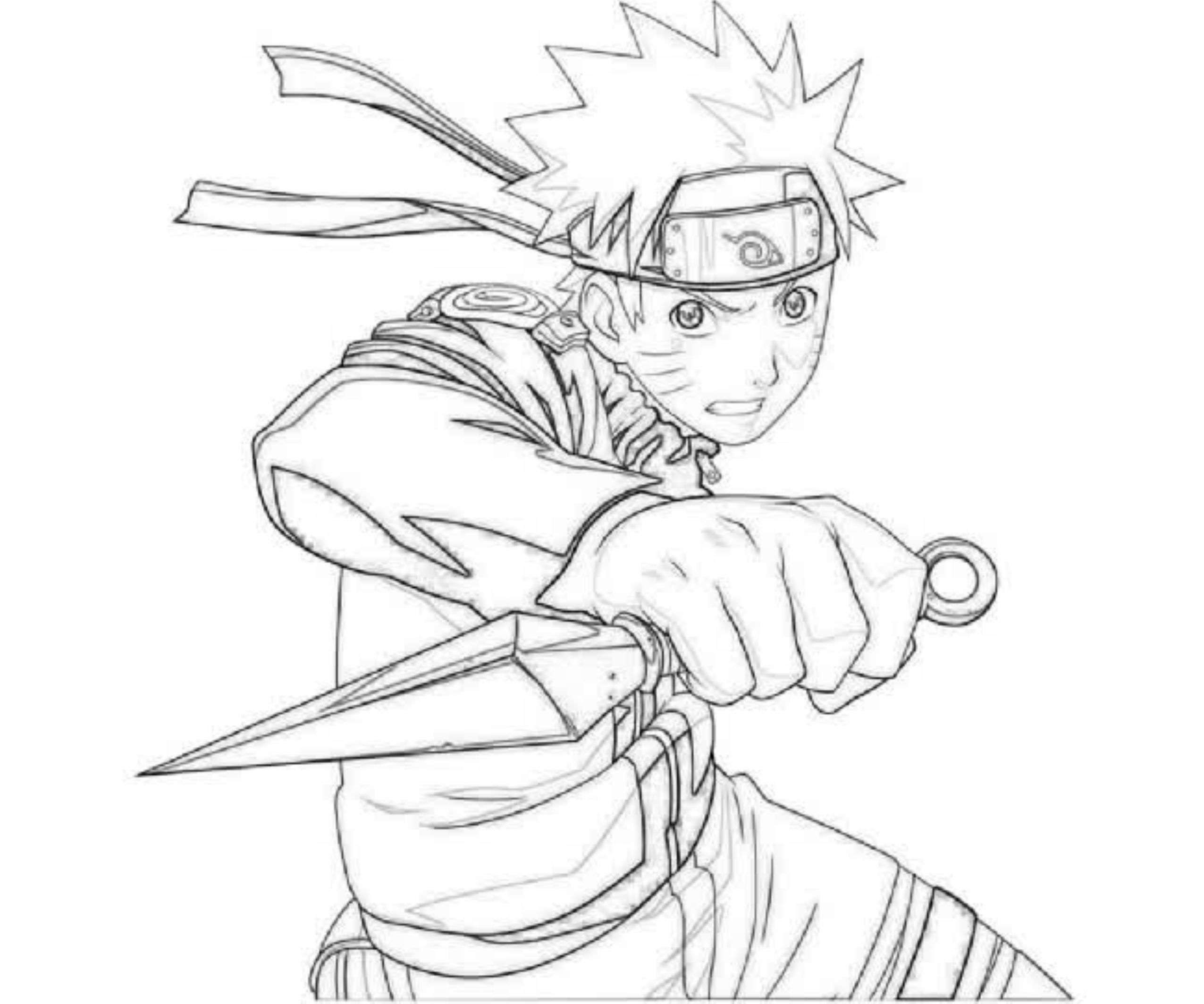 Anime Naruto Coloring Pages Naruto Coloring Pages Jvzooreview