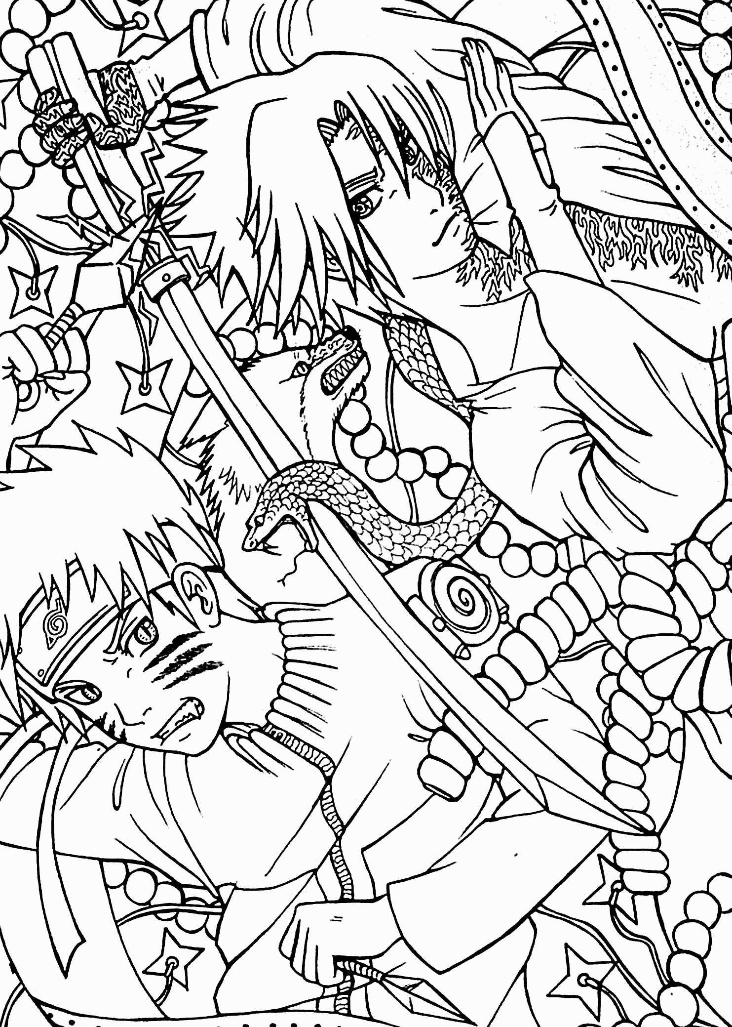 Anime Naruto Coloring Pages Naruto Coloring Pages New Naruto Coloring Pages Printable Fresh