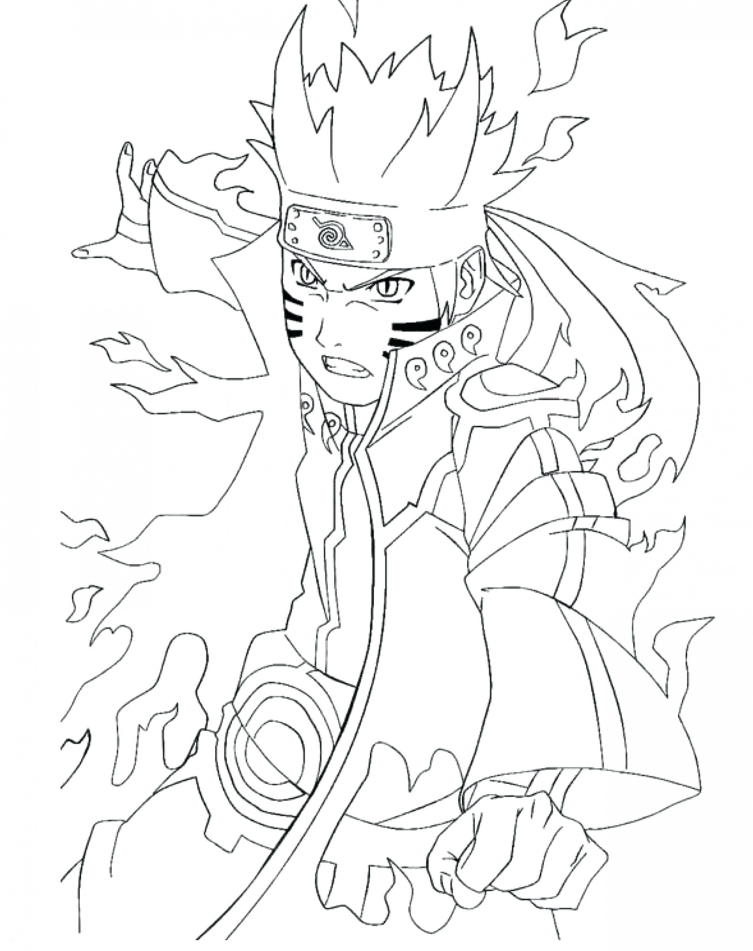 Anime Naruto Coloring Pages Naruto Coloring Wwwallanlichtman