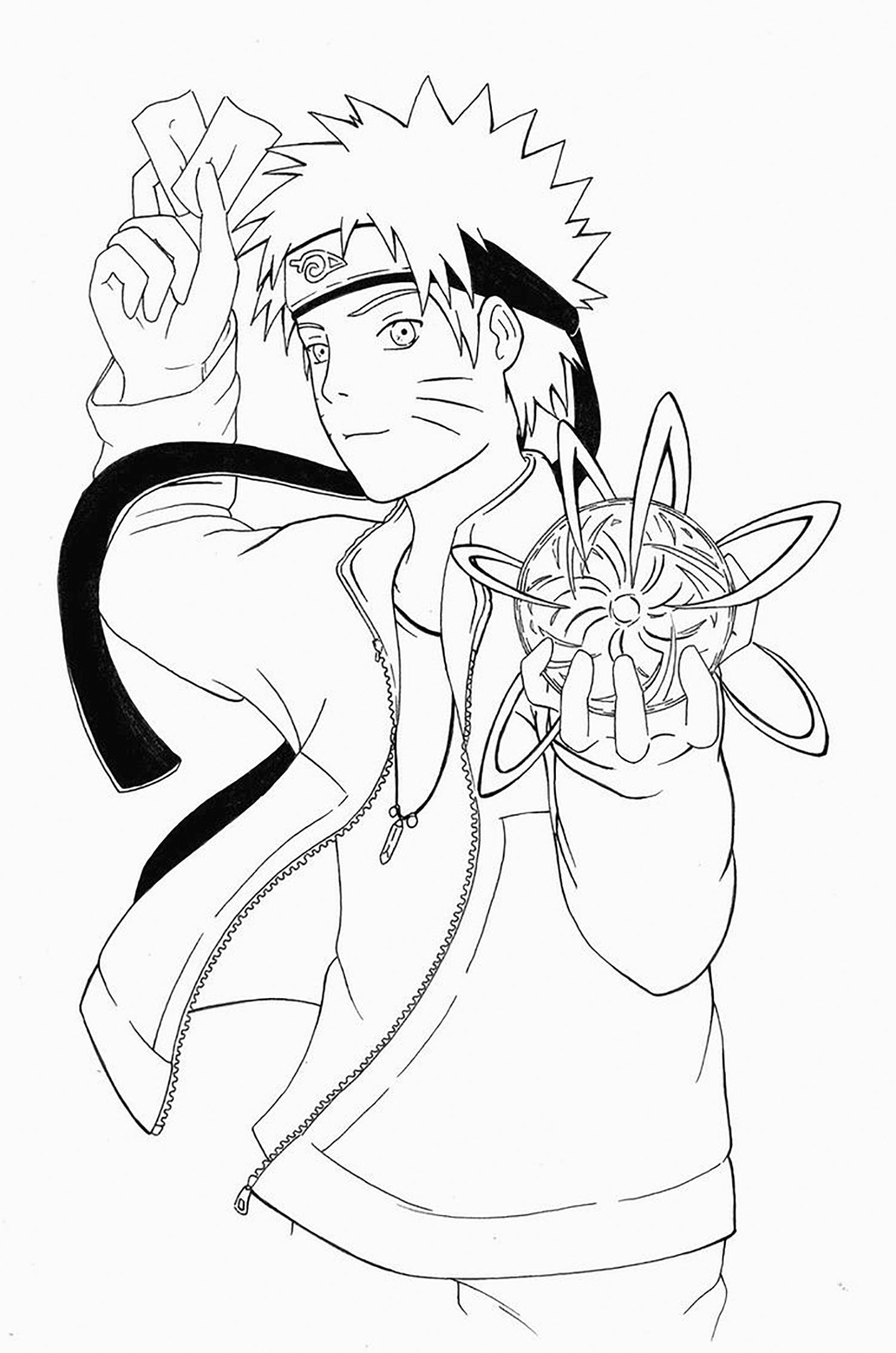 Anime Naruto Coloring Pages Naruto To Download For Free Naruto Kids Coloring Pages