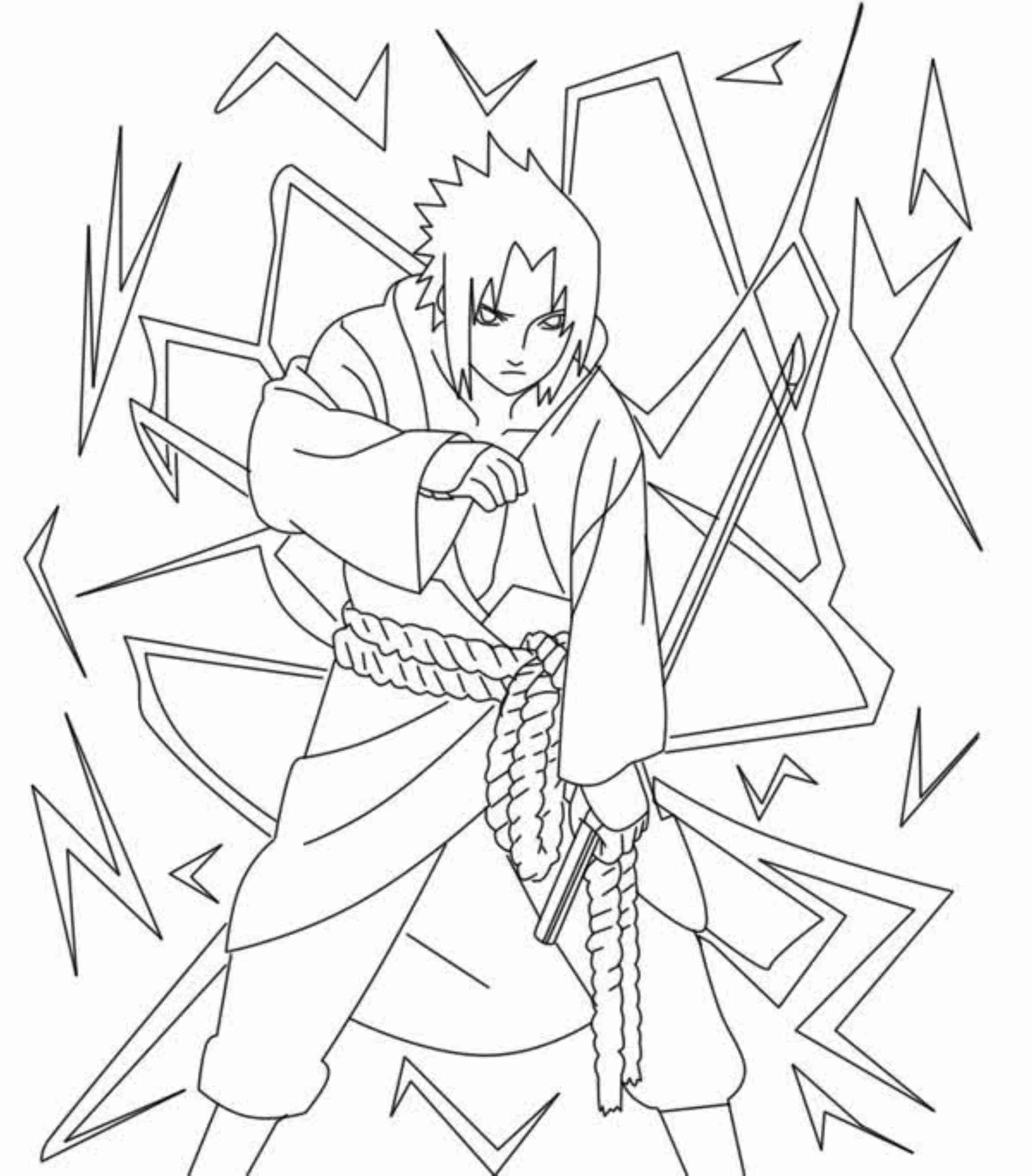Anime Naruto Coloring Pages Printable Naruto Coloring Pages To Get Your Kids Occupied Best