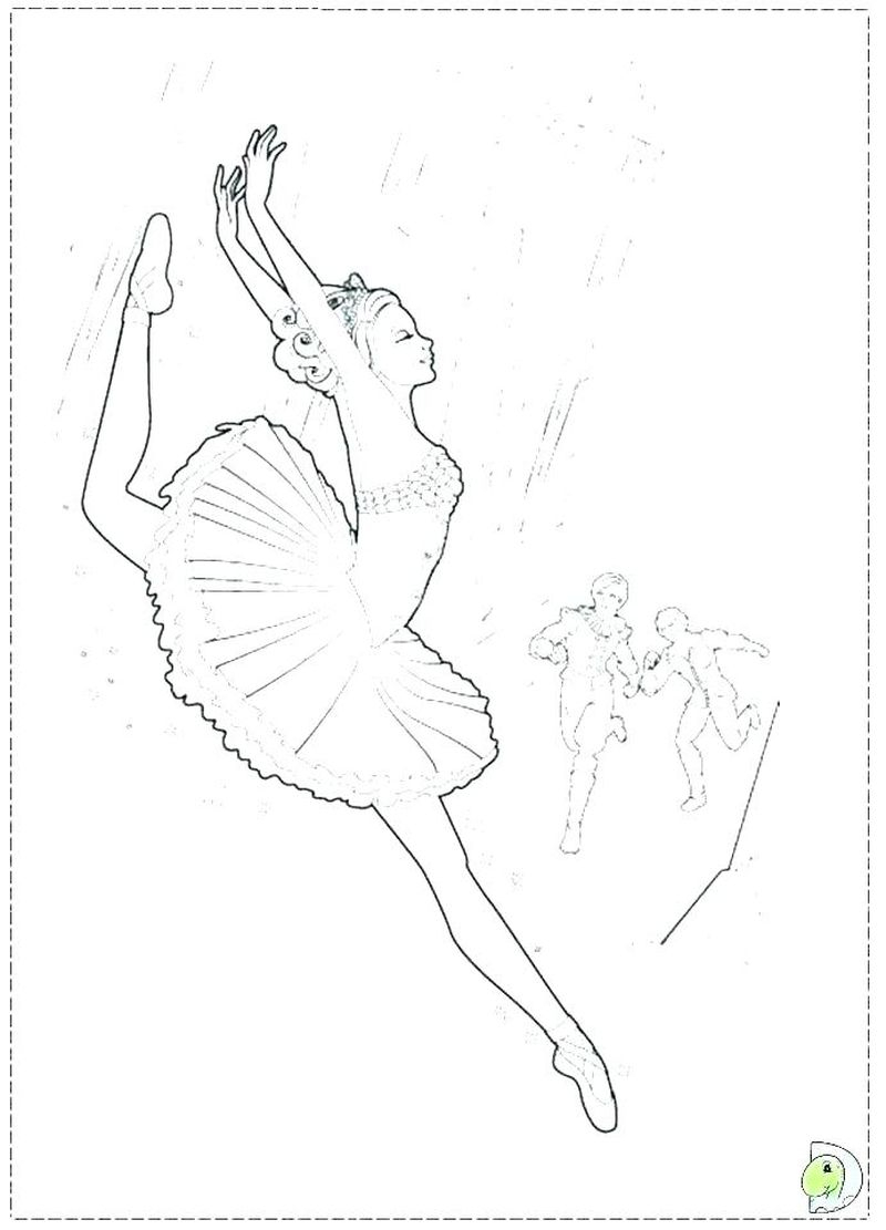 Ballerina Coloring Pages For Kids Ballerina Coloring Pages For Kids Free Free Coloring Sheets