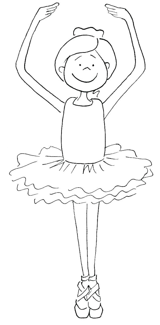 Ballerina Coloring Pages For Kids Ballet Dance Coloring Pages Lagunapaperco
