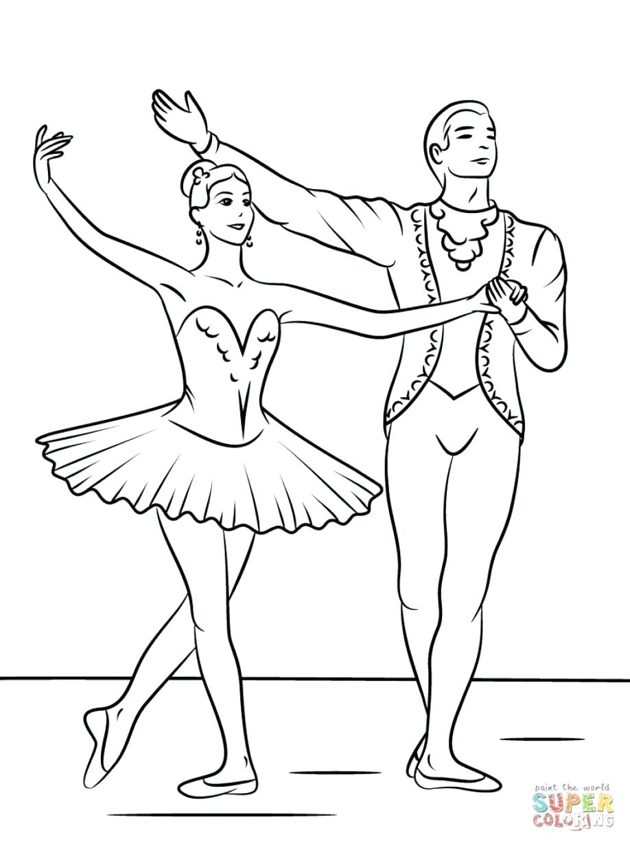 Ballerina Coloring Pages For Kids Printable Ballerina Coloring Pages Remotestashco