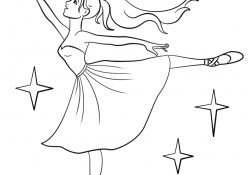 Ballerina Printable Coloring Pages Ballet Coloring Pages Free Coloring Pages