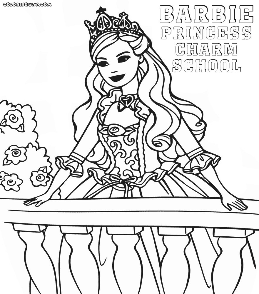 Barbie Halloween Coloring Pages Barbie Coloring Pages Print Cartoon Halloween Animals Colouring Free