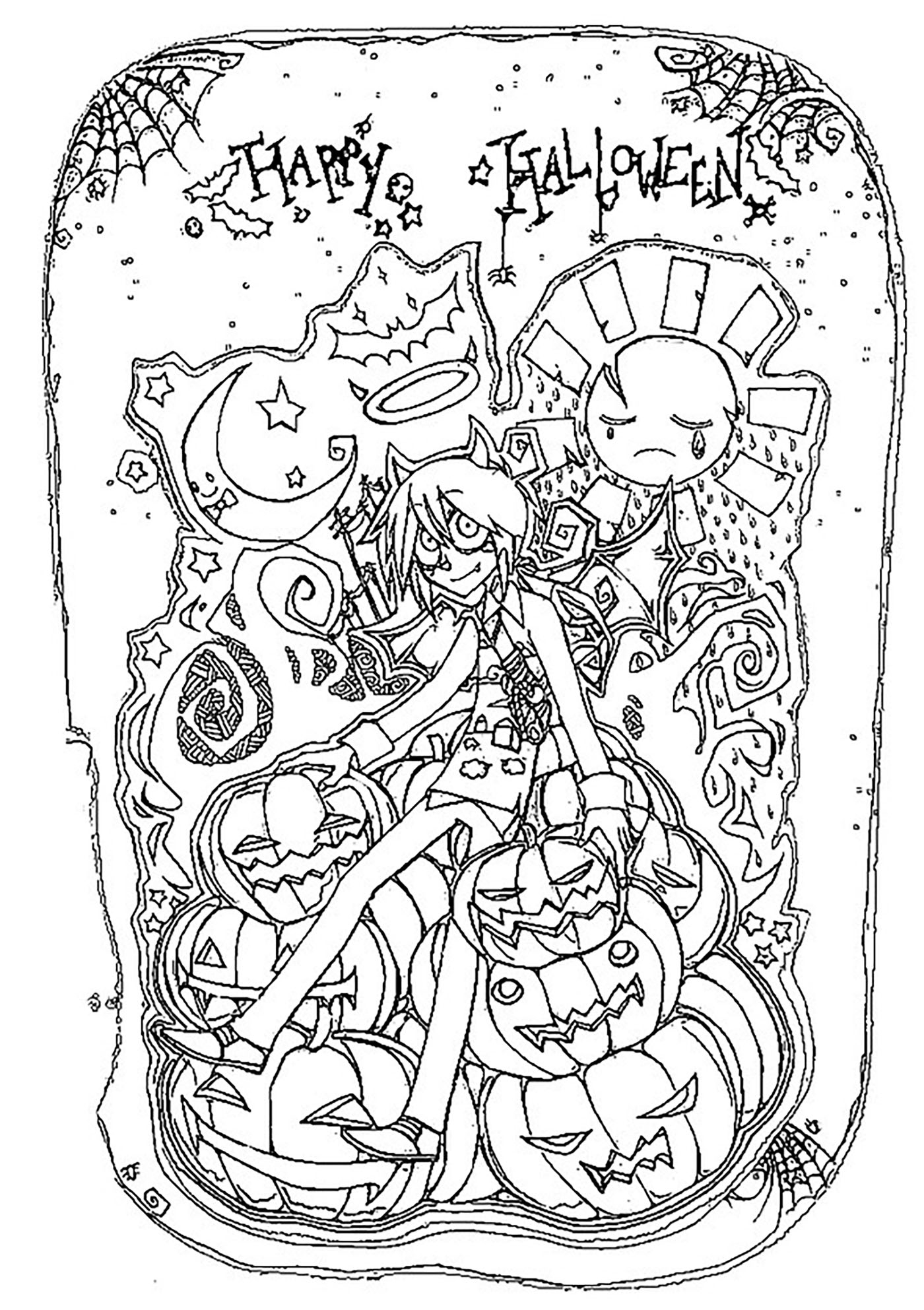 Barbie Halloween Coloring Pages Halloween Happy Halloween Halloween Adult Coloring Pages