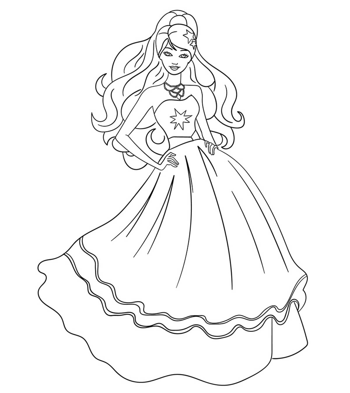 Barbie Halloween Coloring Pages Top 50 Free Printable Barbie Coloring Pages Online