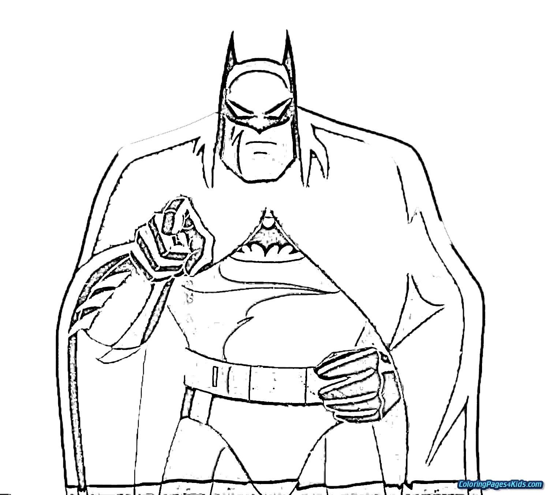 Batman Vs Superman Color Pages Batman Vs Superman Coloring Pages Free Printable Coloring Pages