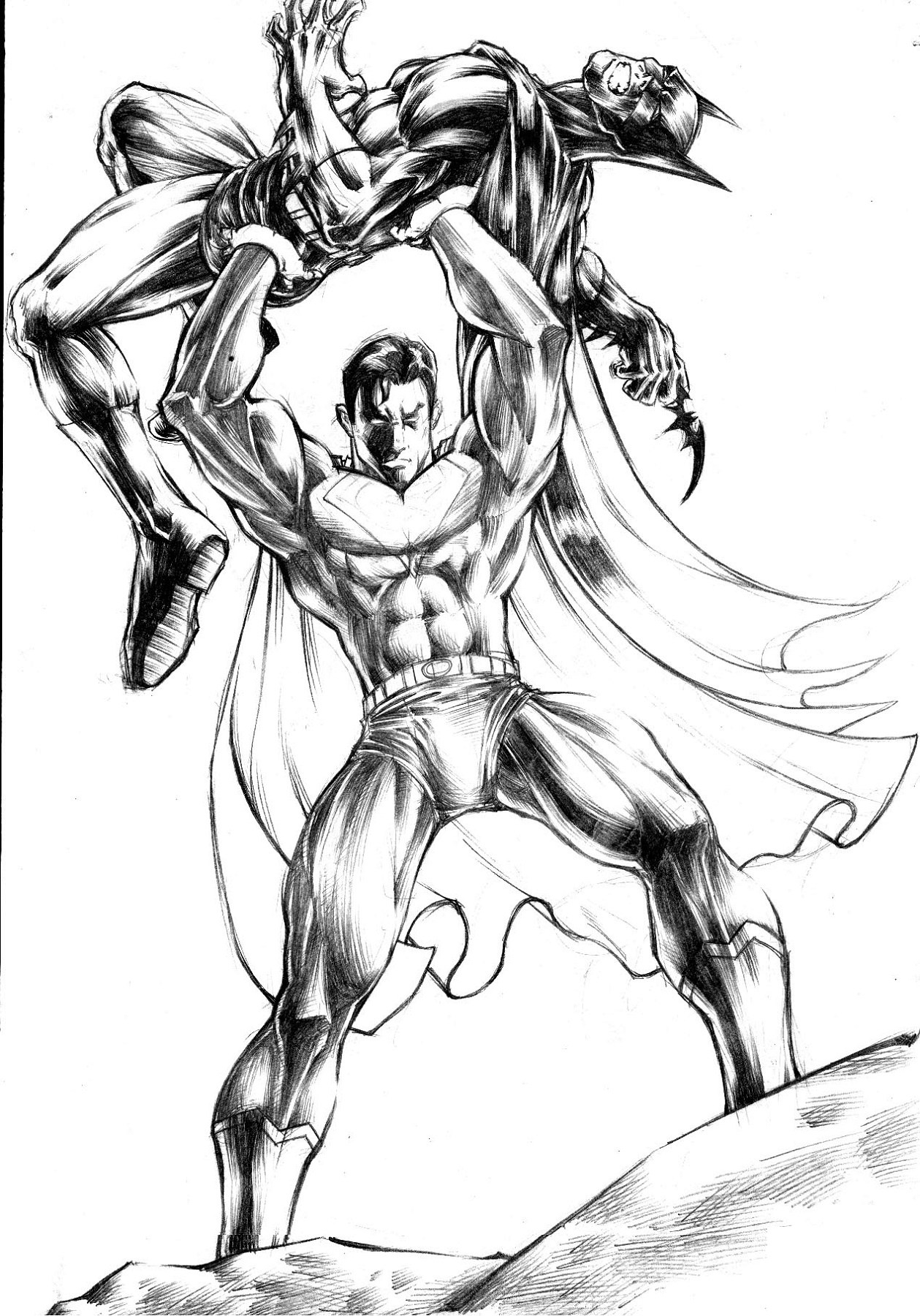 Batman Vs Superman Color Pages Batman Vs Superman Miller Wiring Diagram Database