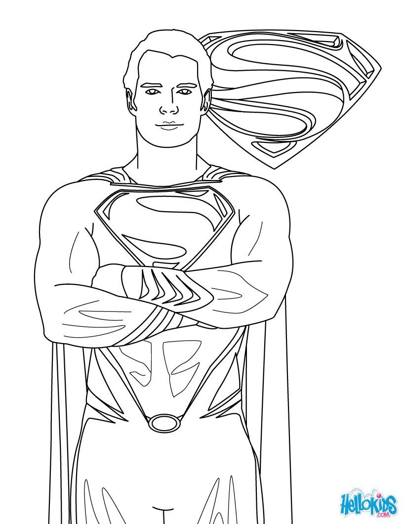 Batman Vs Superman Color Pages Coloring Ideas 50 Remarkable Superman Coloring Pages Printable