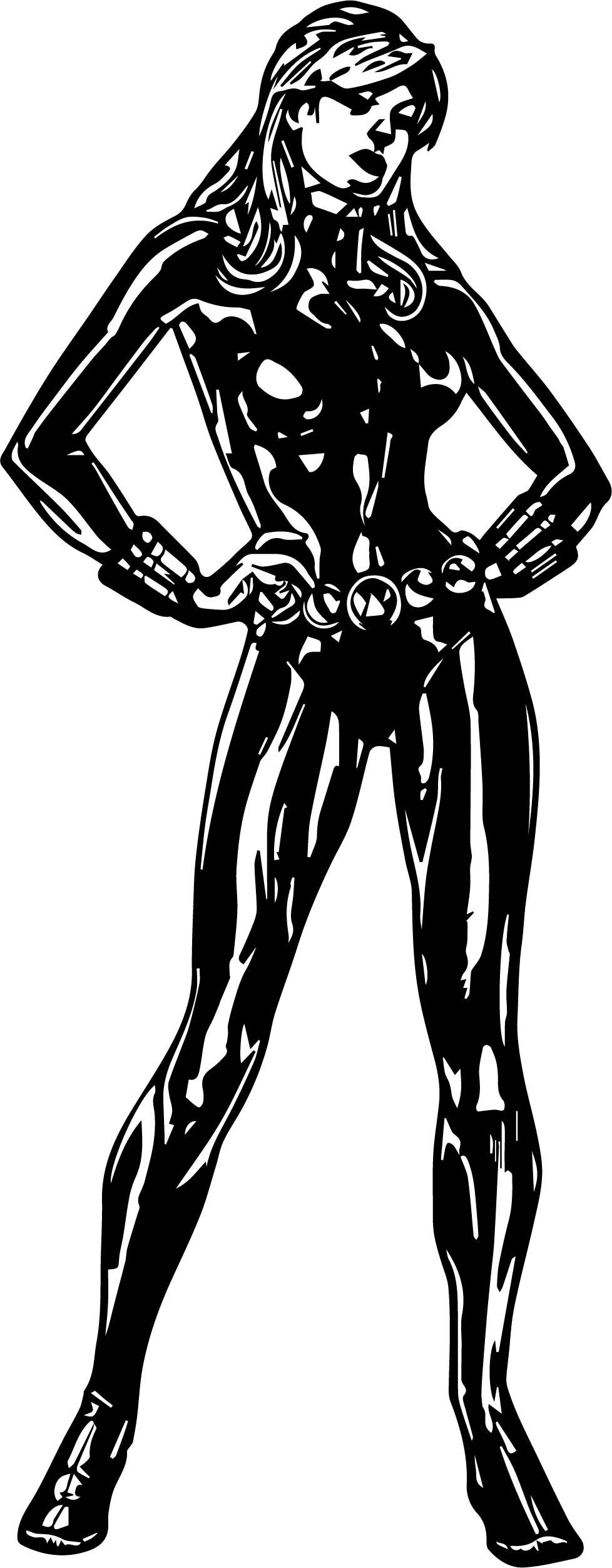Black Widow Avengers Coloring Pages Black Widow Avengers Assemble Coloring Page Wecoloringpage