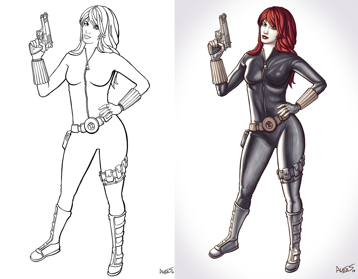 Black Widow Avengers Coloring Pages Black Widow Superhero Colouring Pages Black Widow Coloring Pages