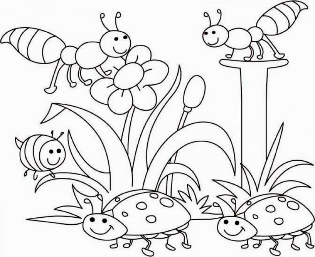 Bug Coloring Pages For Kids Bug Coloring Sheets Coloring Pages