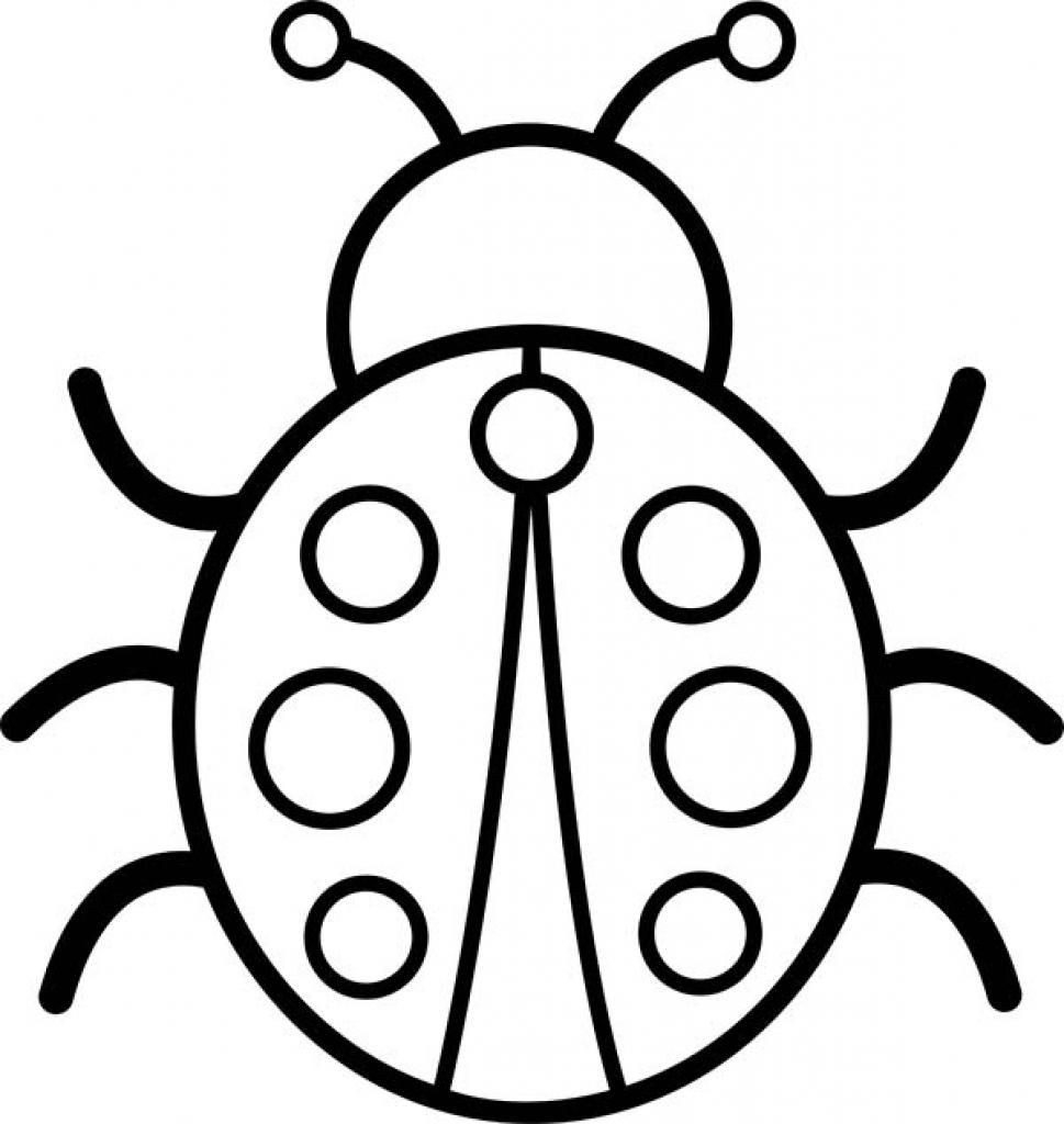 Bug Coloring Pages For Kids Coloring Free Insectoring Sheets For Kids Animals Kindergarten