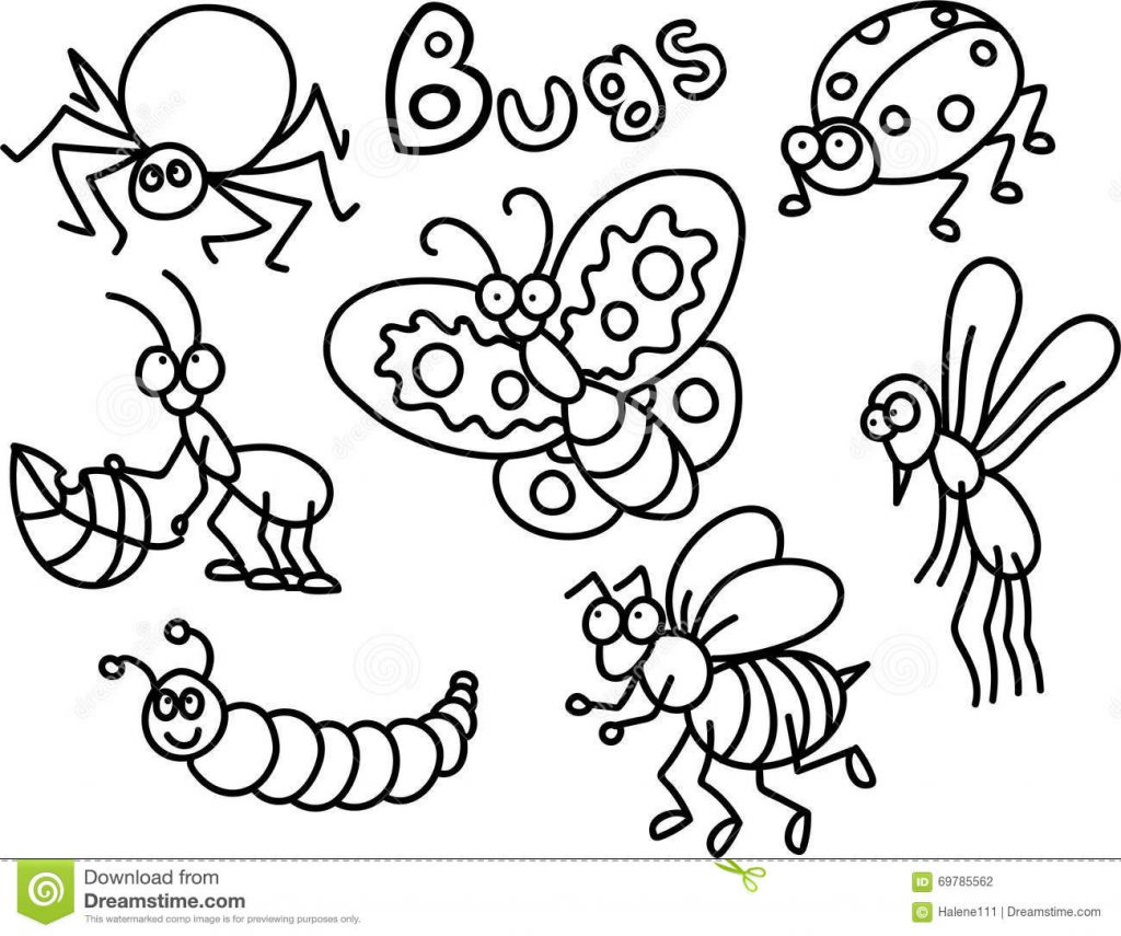 Bug Coloring Pages For Kids Coloring Ideas Fantastic Insect Coloring Sheets Ideas Miraculous