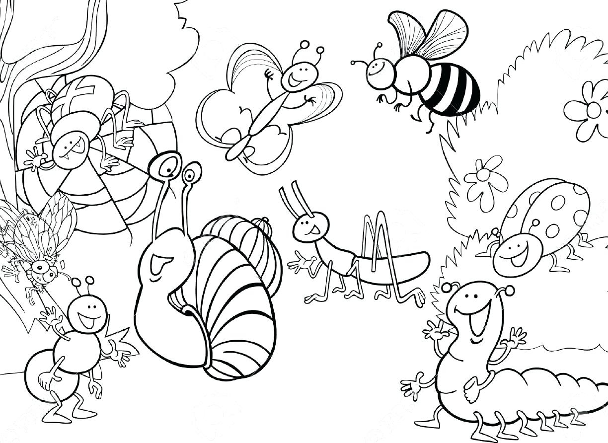 Bug Coloring Pages For Kids Insect Coloring Pages For Kids At Getdrawings Free For