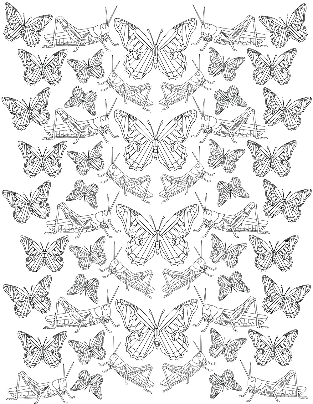 Bug Coloring Pages For Kids Insect Coloring Pages Terminix Blog