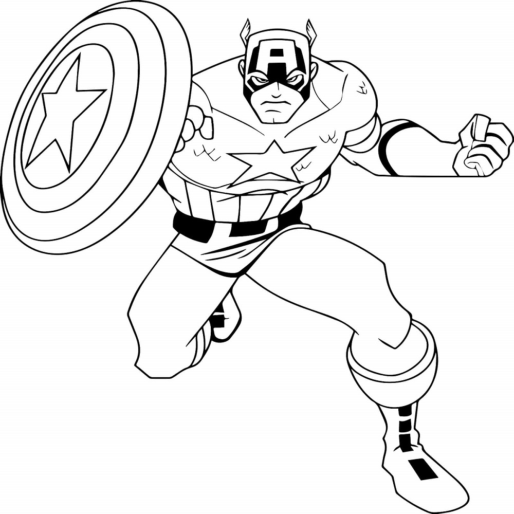Captain America Winter Soldier Coloring Pages 30 Printable Captain America Coloring Pages