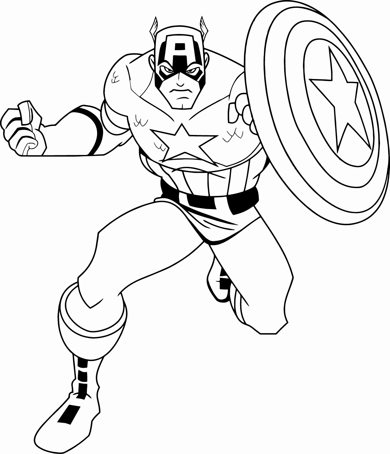 Captain America Winter Soldier Coloring Pages American Soldier Coloring Pages At Getdrawings Free For