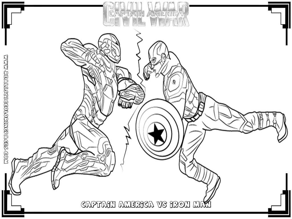 Captain America Winter Soldier Coloring Pages Captain America Coloring Pages To Print Beautiful Marvel Iron Man