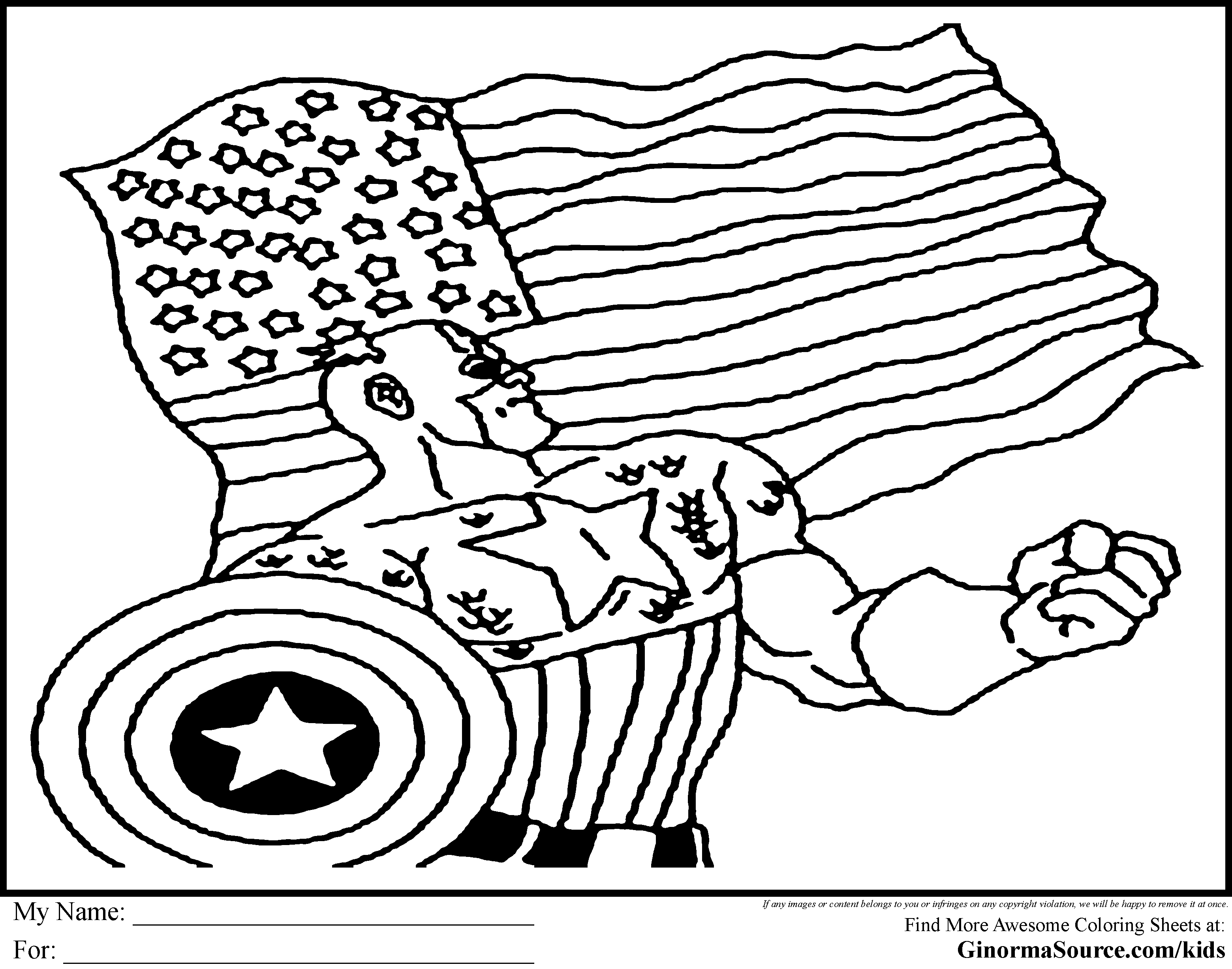 Captain America Winter Soldier Coloring Pages Captain America The Winter Soldier Coloring Pages