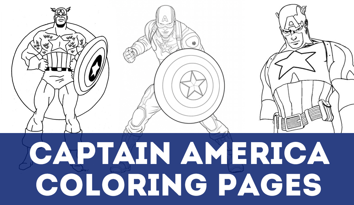 Captain America Winter Soldier Coloring Pages Updated 50 Captain America Coloring Pages August 2019
