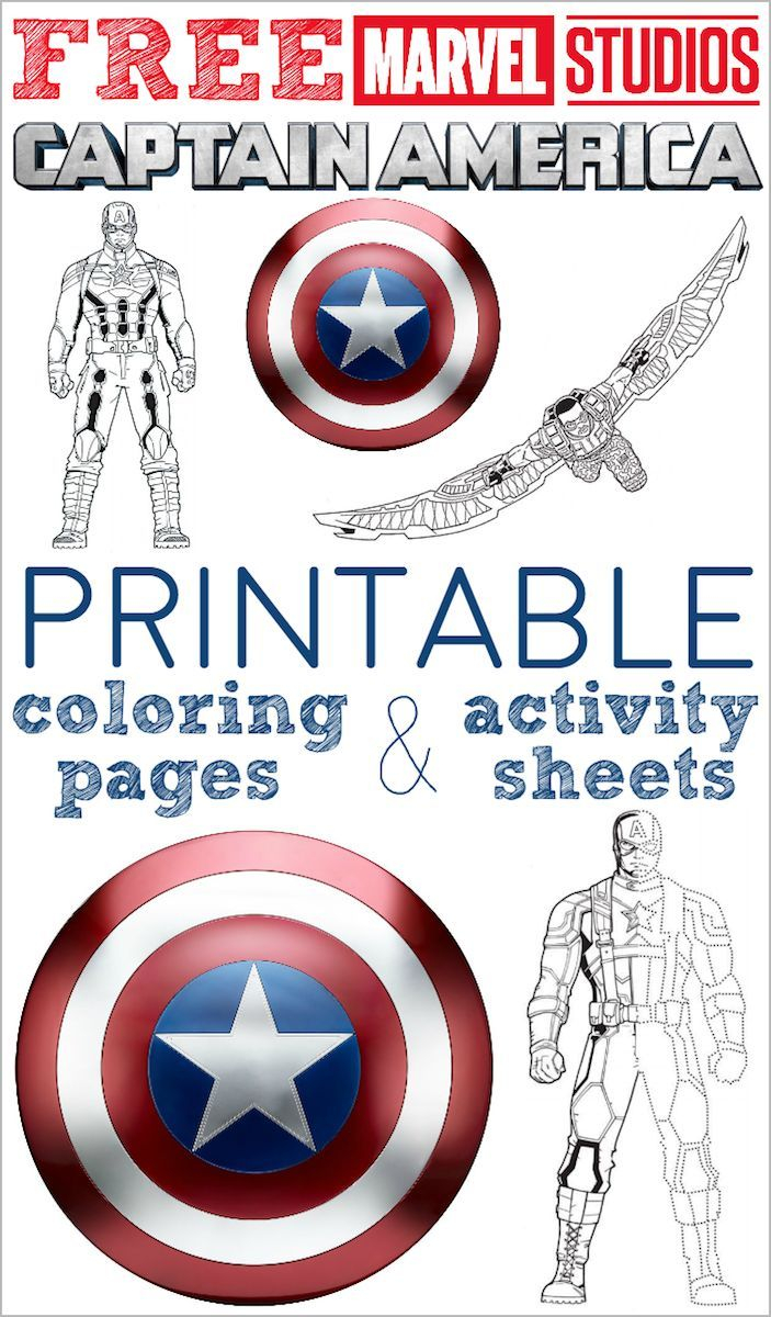 Captain America Winter Soldier Coloring Pages Willpower Captain America Sheets Free Printable Coloring Pages And
