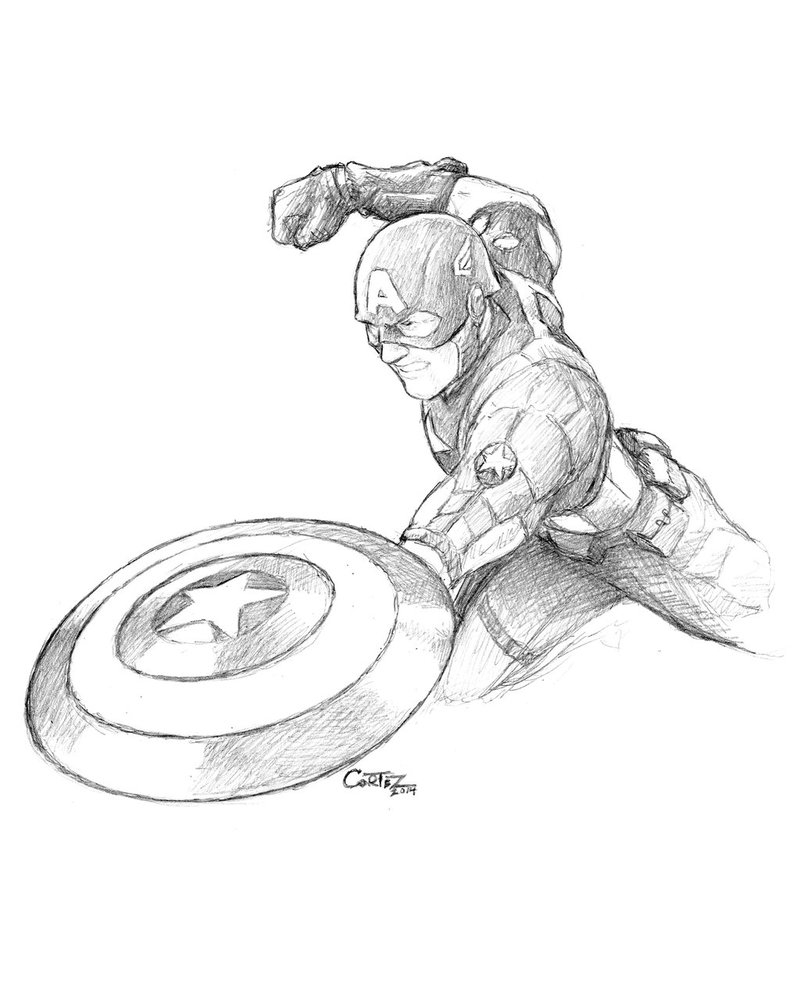 Captain America Winter Soldier Coloring Pages Winter Soldier Drawing At Getdrawings Free For Personal Use