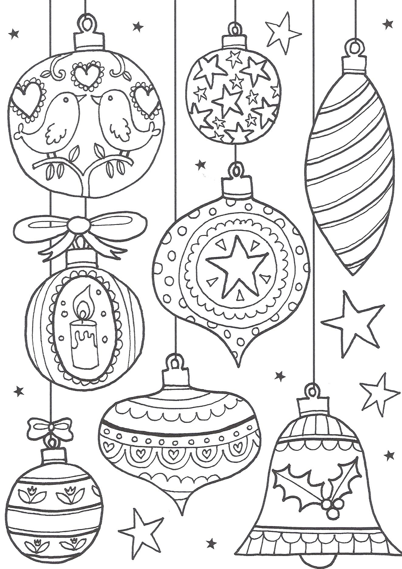 Christmas Color Pages For Kids Coloring Ideas Christmas Coloring For Kids Extraordinary Free