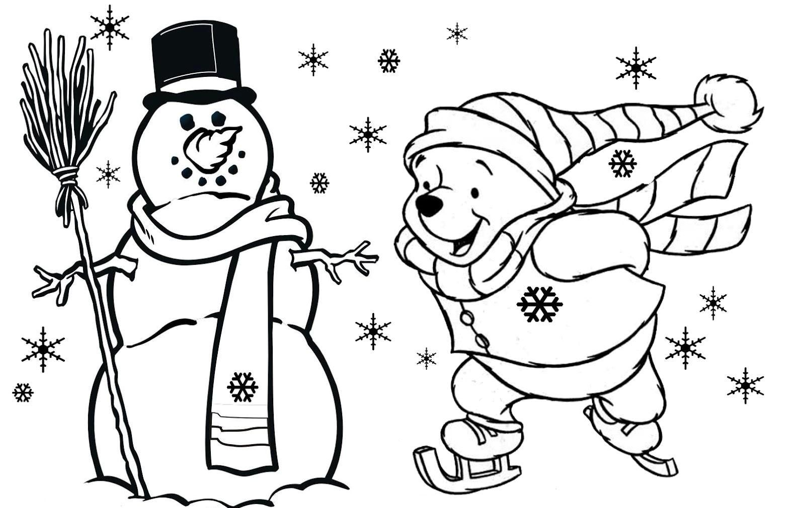 Christmas Color Pages For Kids Coloring Pages Childrens Christmas Coloring Pages Free Printable