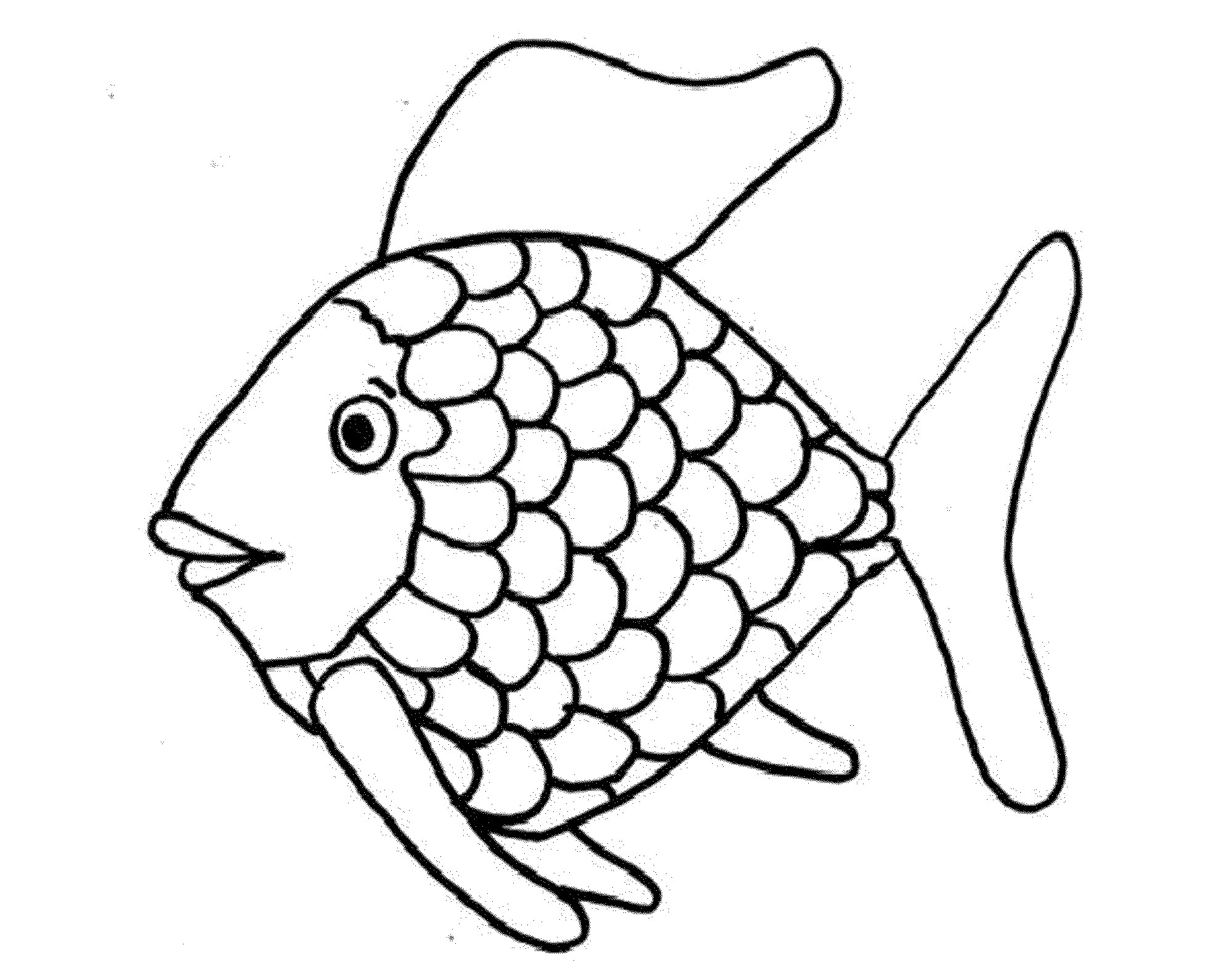 Christmas Color Pages For Kids Coloring Pages Fish Coloring For Children Attachment Toddlers