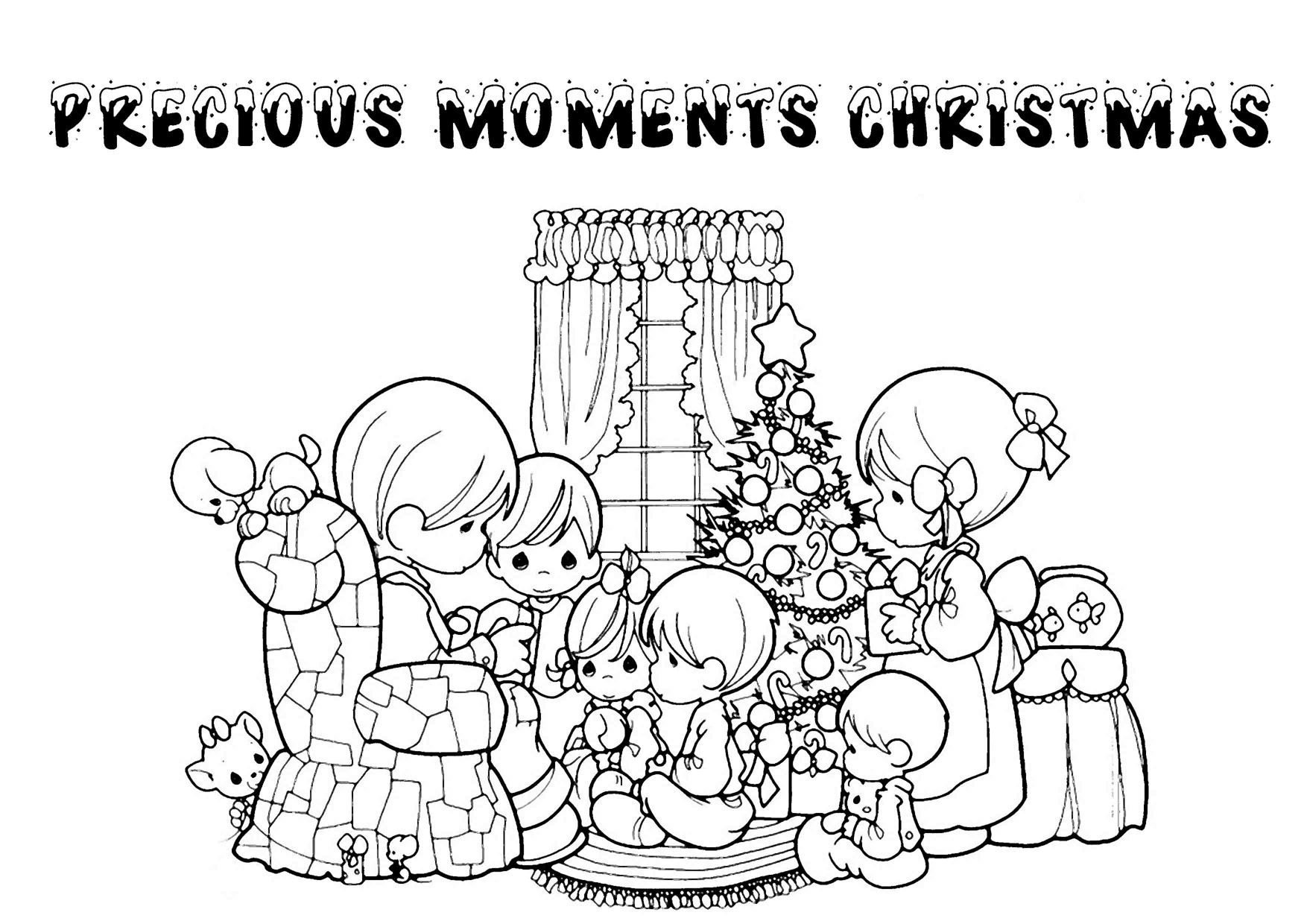 Christmas Color Pages For Kids Cooloring Book Free Printable Christmas Coloring Pages For Kids