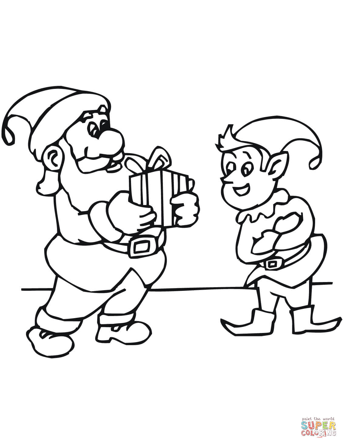 Christmas Elf Coloring Pages Coloring Ideas Coloring Ideas Elfs Printable Christmas Elves Free