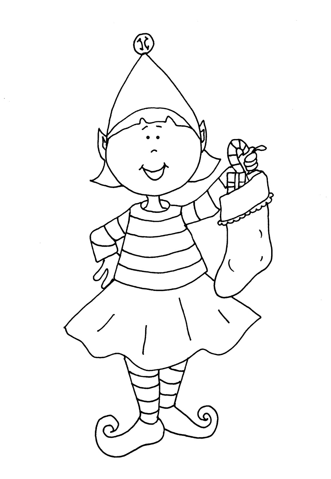 Christmas Elf Coloring Pages Coloring Ideas Elf Coloring Pages Printable Free Christmas