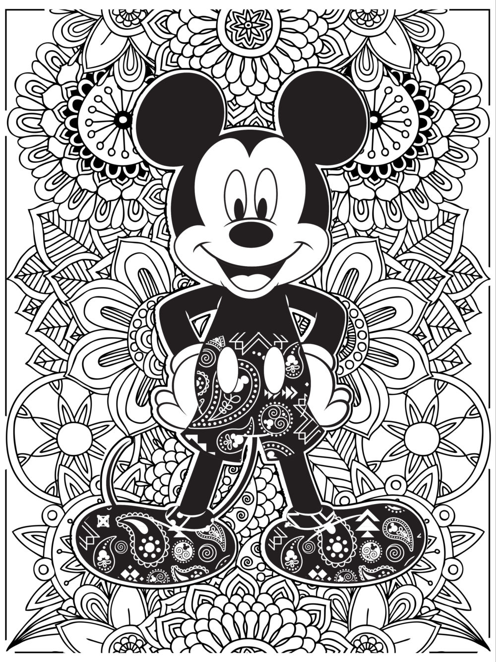 Coloring Disney Pages Celebrate National Coloring Book Day With Disney Style