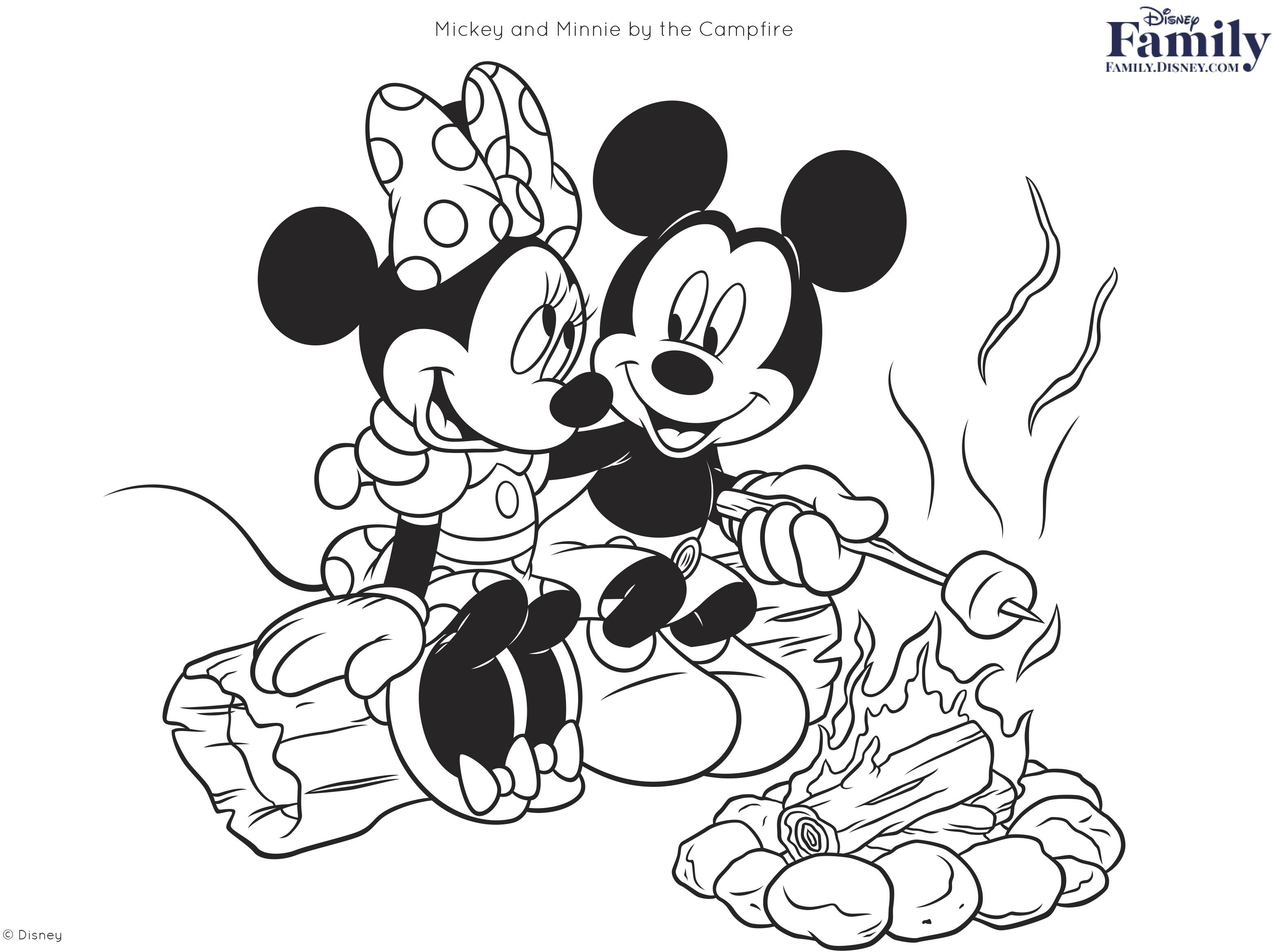 Coloring Disney Pages Disney Coloring Pages Disney Family