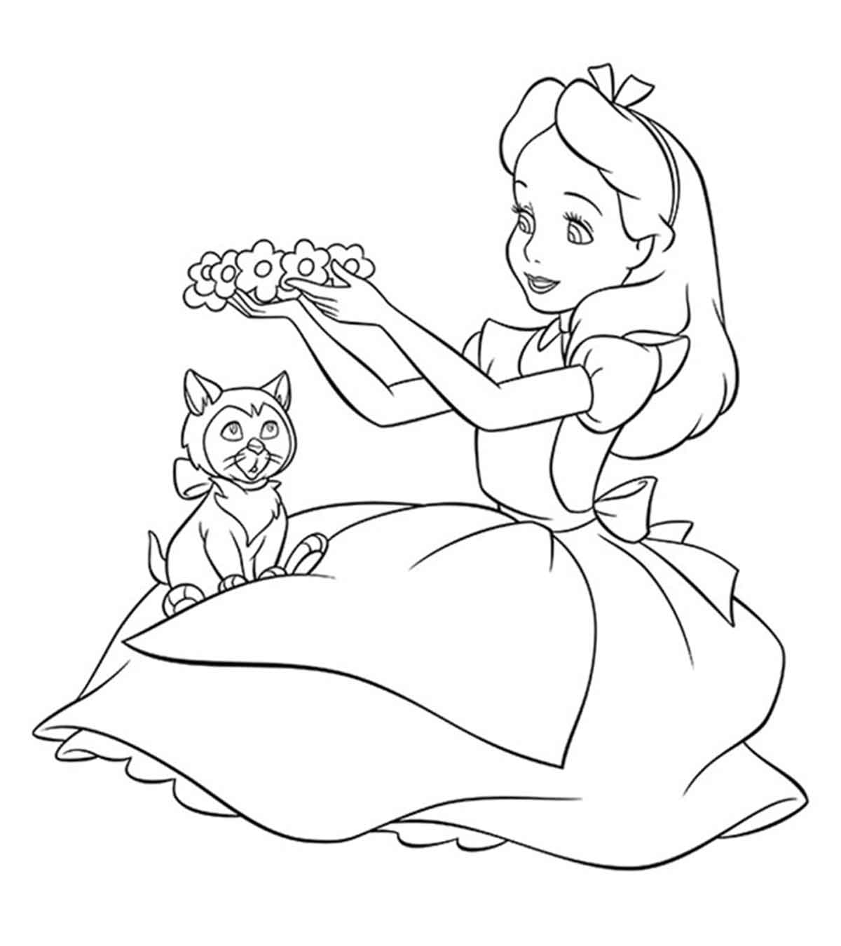 Coloring Disney Pages Disney Coloring Pages For Your Little Ones