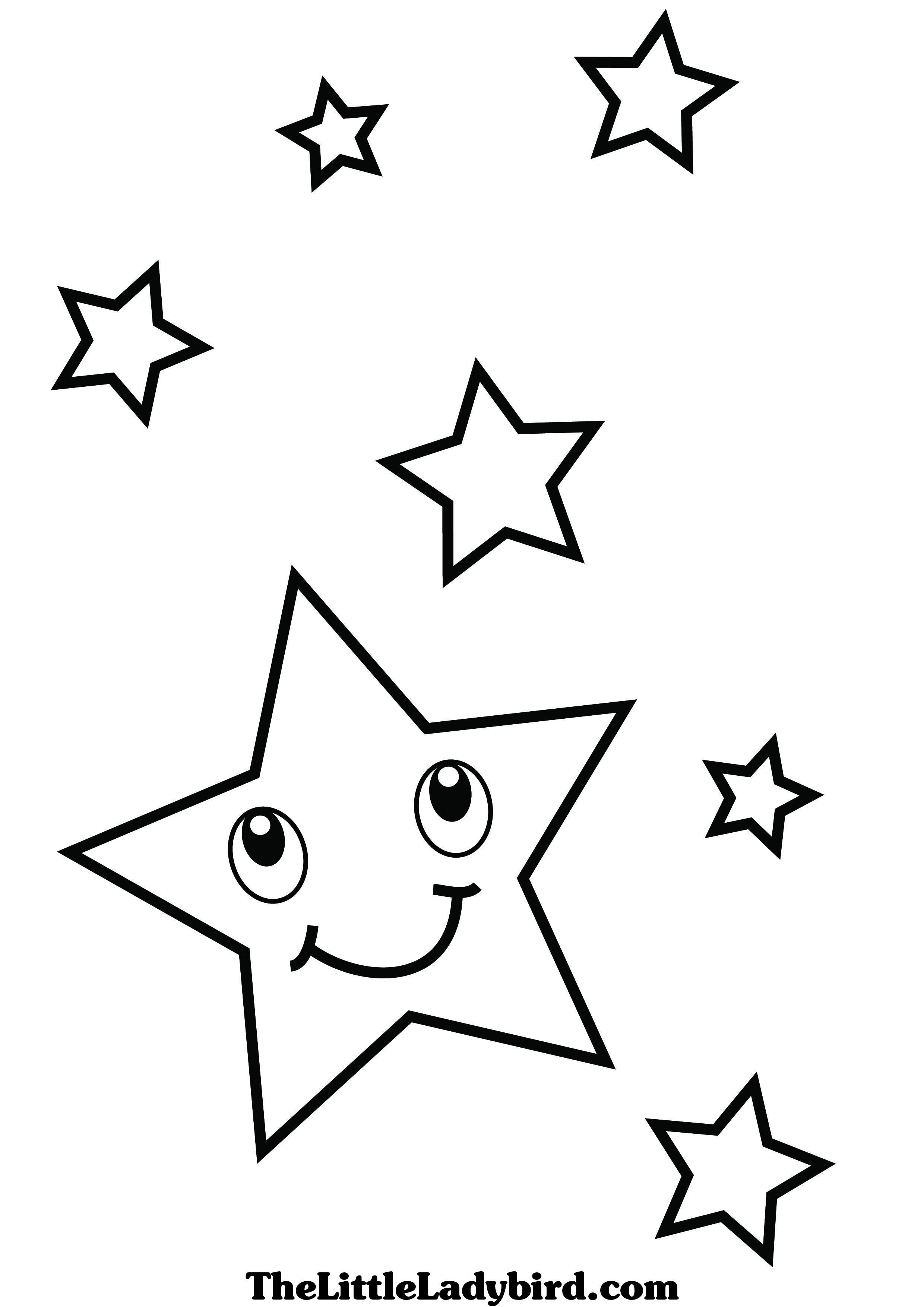 Coloring Page Of A Star 10 Good Looking Coloring Page Stars Medium Is Themess
