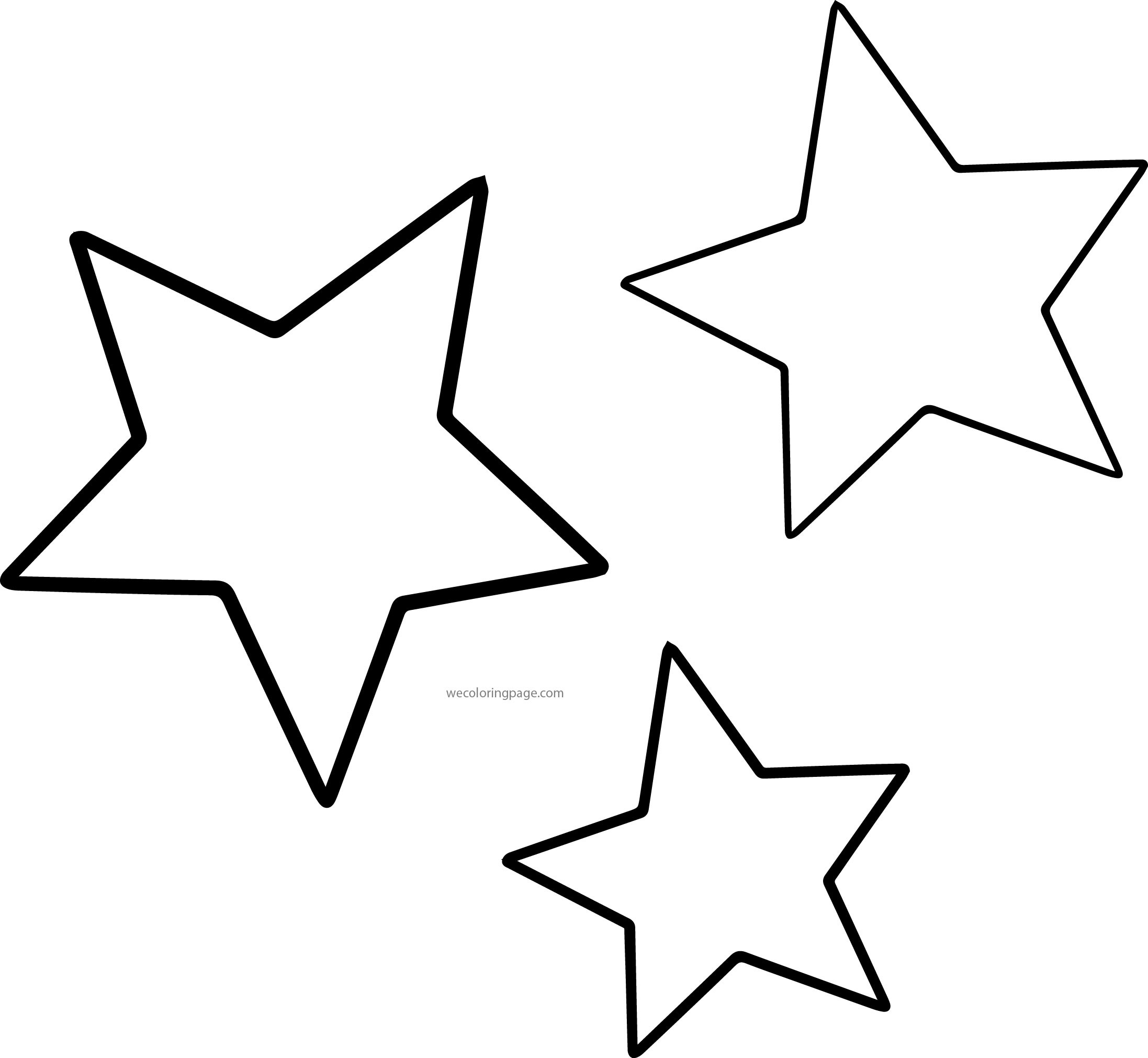 Coloring Page Of A Star Coloring Pages Coloring Pages Moon And Stars Page Star Printable