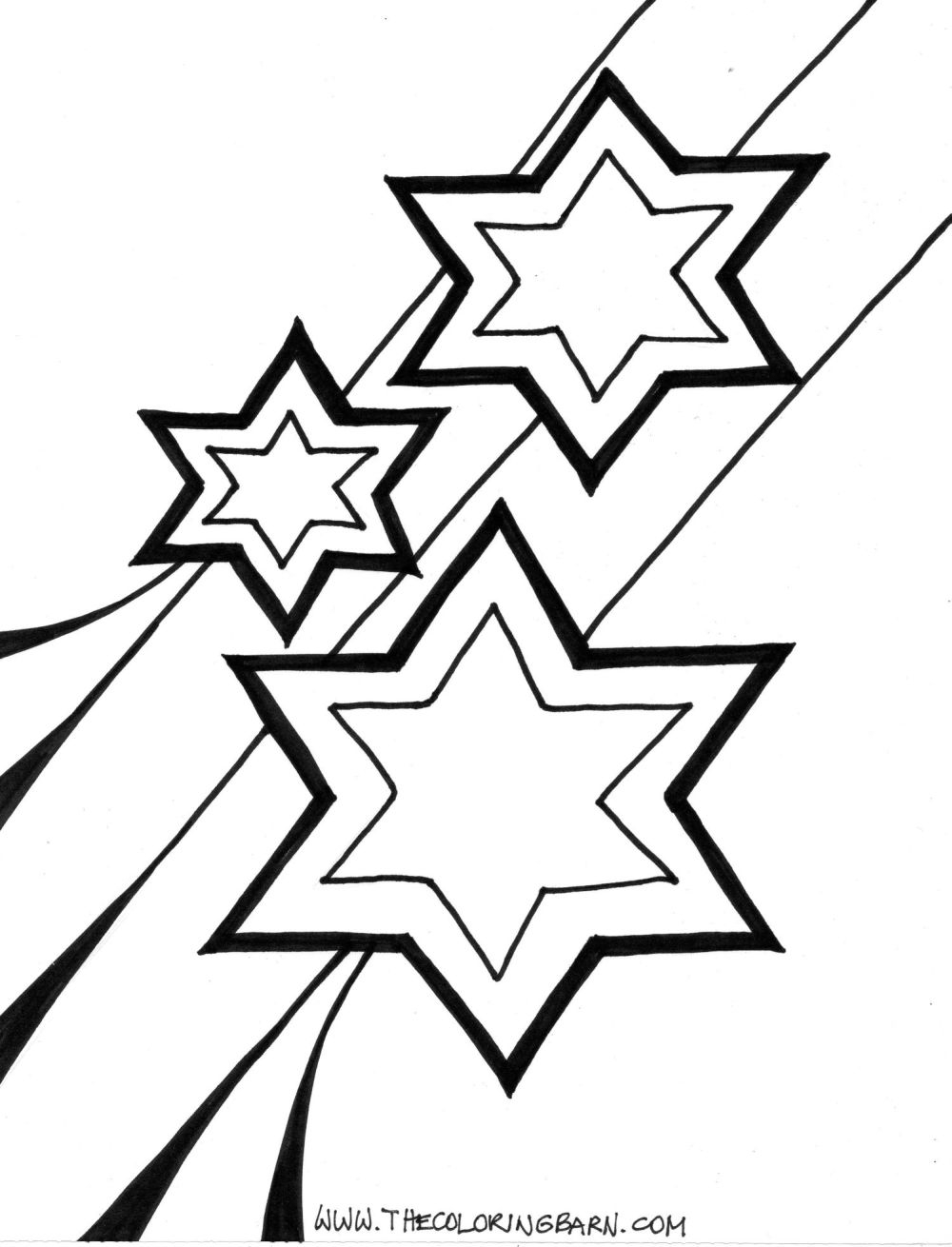 Coloring Page Of A Star Coloring Pages Coloring Pagesoon And Stars Page For Ba Preschool