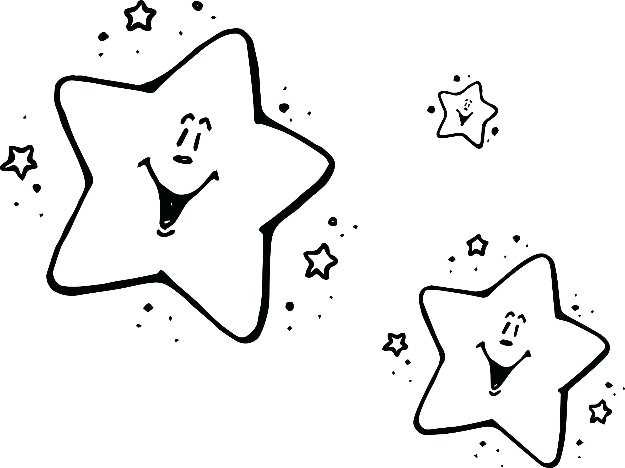 Coloring Page Of A Star Coloring Stars Redbirdcolorco