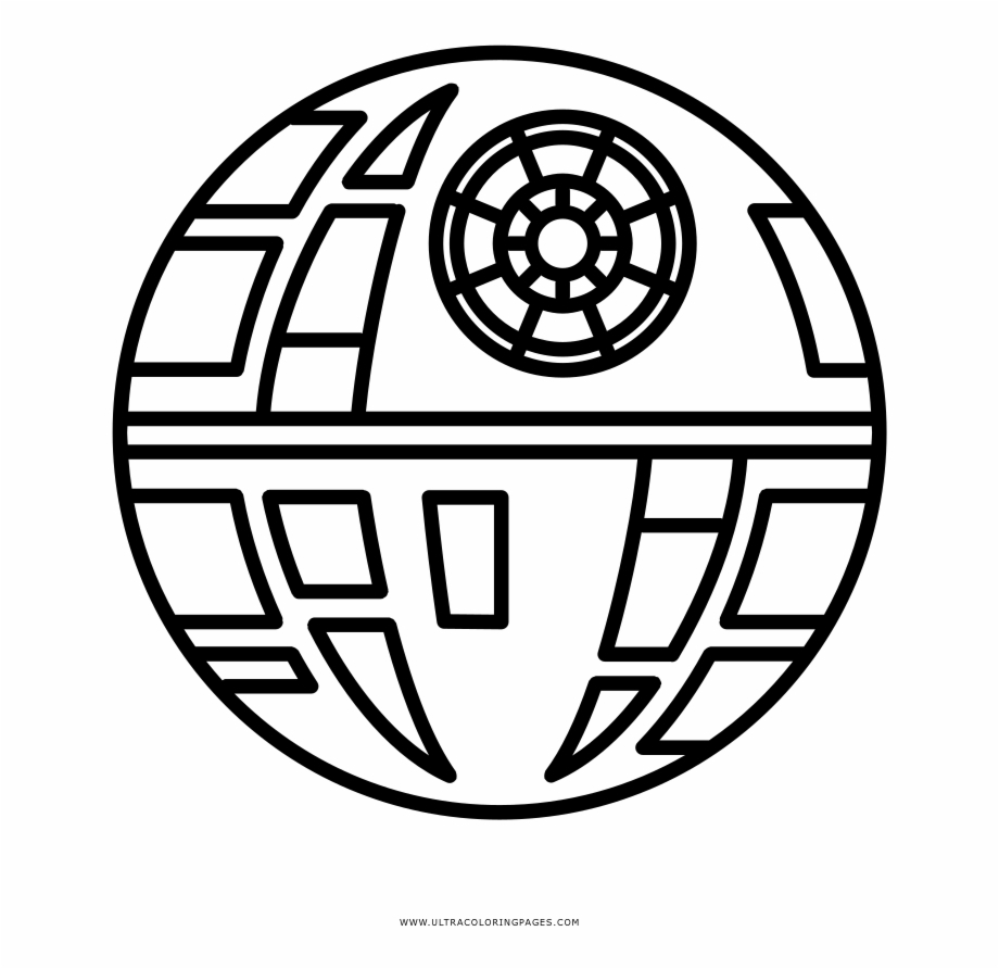 Coloring Page Of A Star Death Star Coloring Page Star Wars Mickey Head Free Png Images