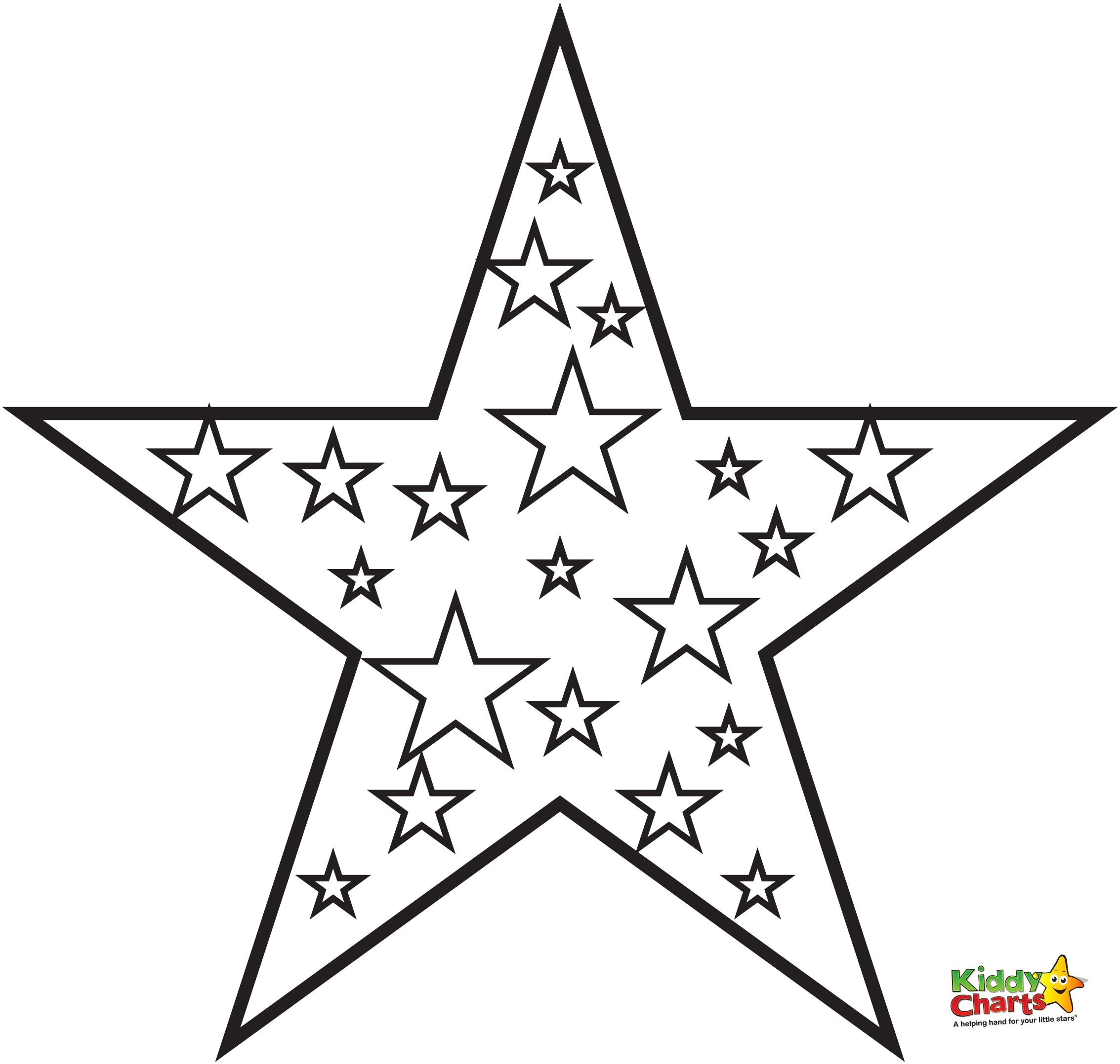 Coloring Page Of A Star Star Coloring Page 4 Telematik Institut