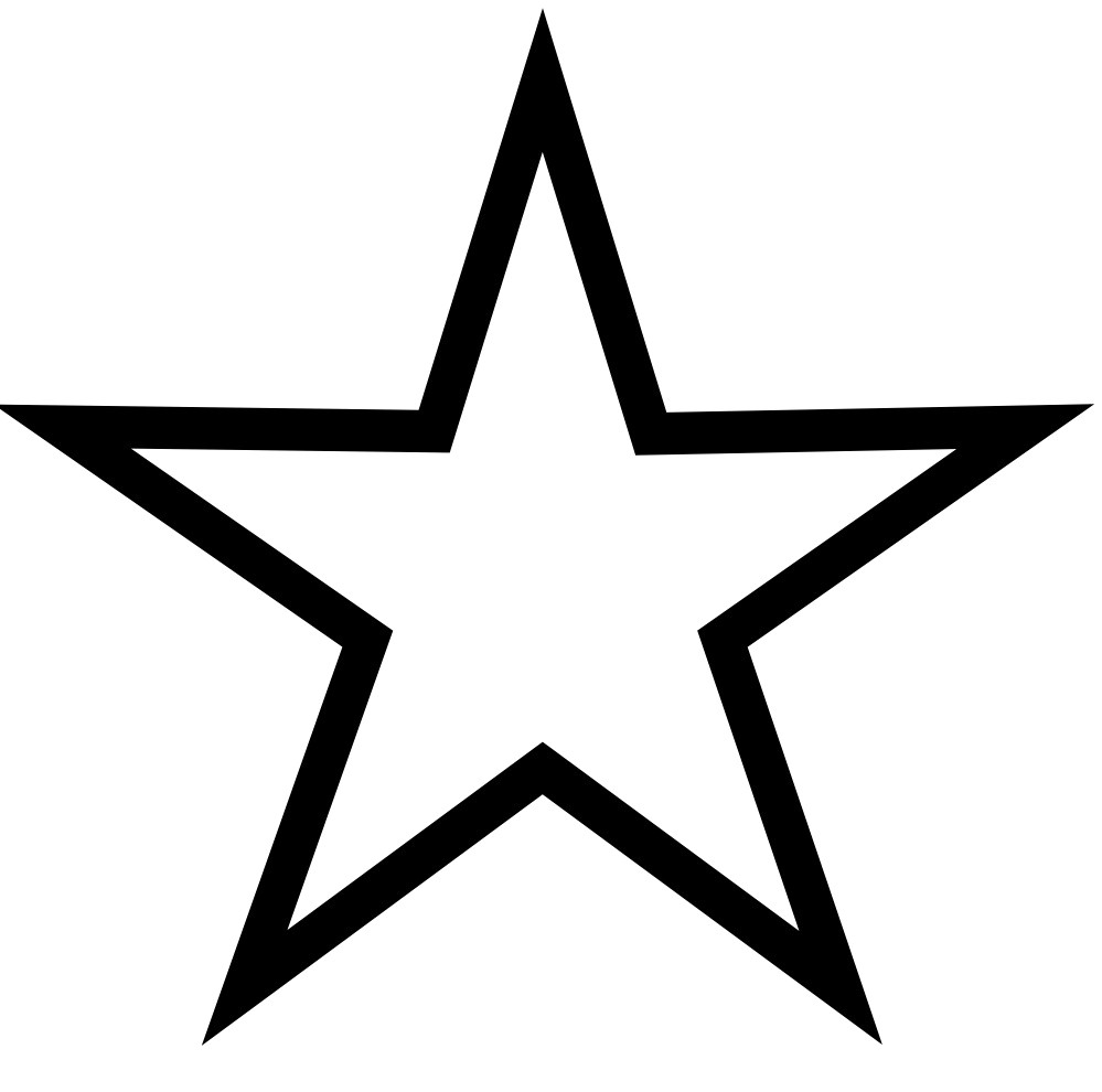 Coloring Page Of A Star Star Coloring Page 6 Telematik Institut